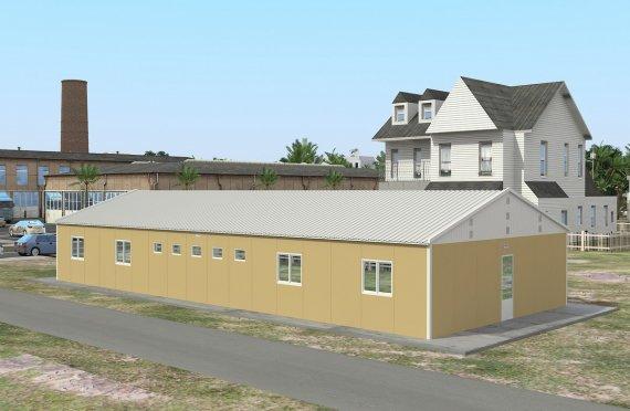 Modular Accommodation Unit 193 m²