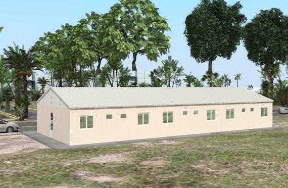 Modular Accommodation Unit 204 m²