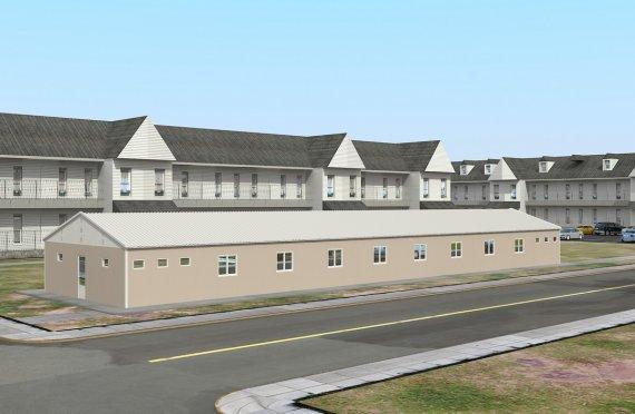 Modular Accommodation Unit 339 m²