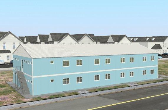 Modular Accommodation Unit 736 m²