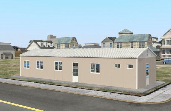Modular Accommodation Unit 86 m²