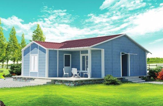 Prefab Home 73 m²