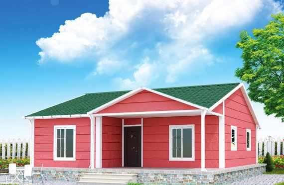 Prefab Home 82 m²