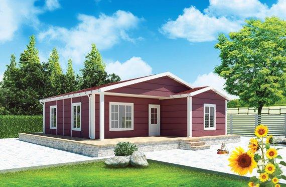 Prefab Home 88 m²