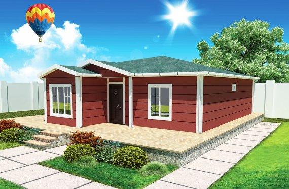 Prefab Home 96 m²