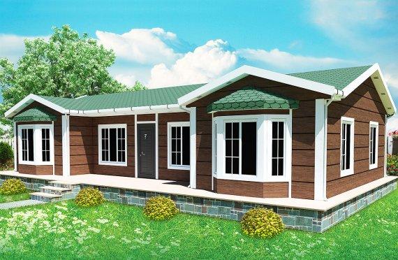 Prefab Home 97 m²