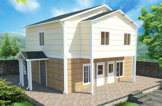 Prefabricated House 114 m²