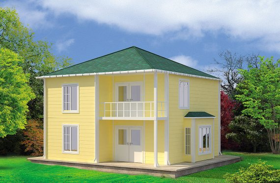 Prefabricated House 124 m²