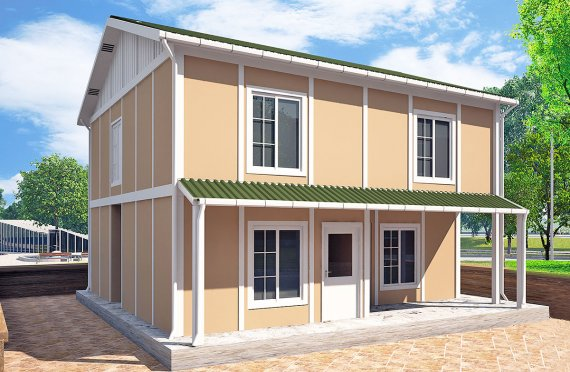 Prefabricated House 127 m²