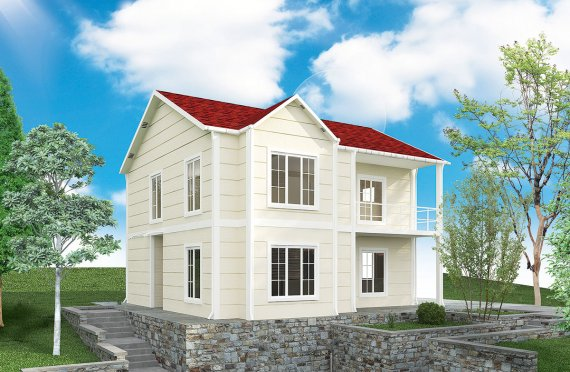Prefabricated House 132 m²