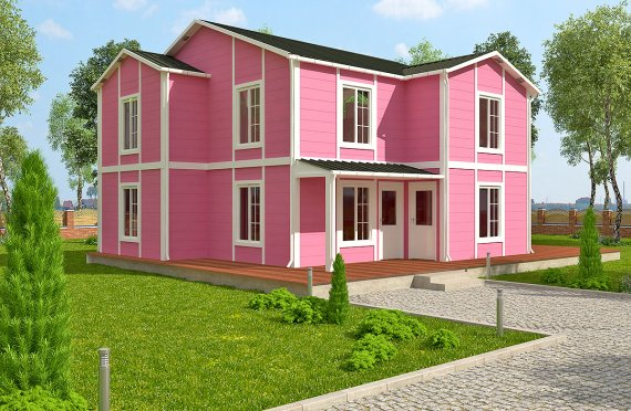 Karmod 147 m² Prefabricated Modular House - Designs and Plans