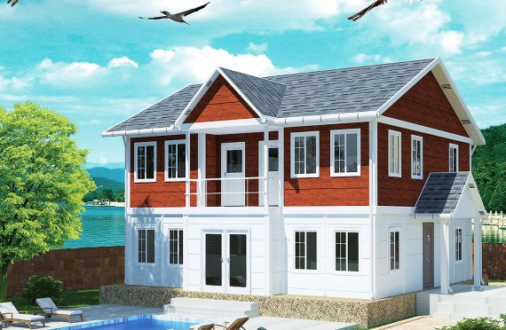 prefabricated houses greece