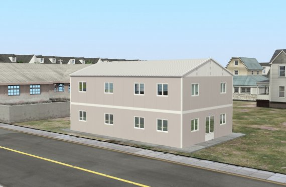 Prefabricated Refectory 250 m²
