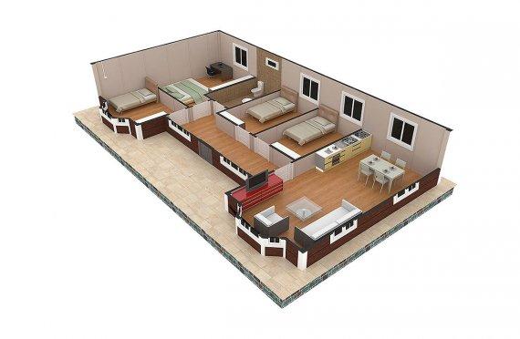 readymade house