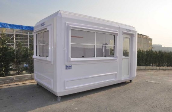 security hut with toilet