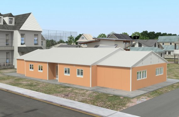 Portable Classroom 272 m²