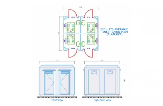toilet dimensions