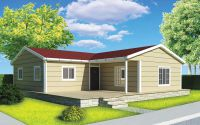 107 m² Prefabricated House