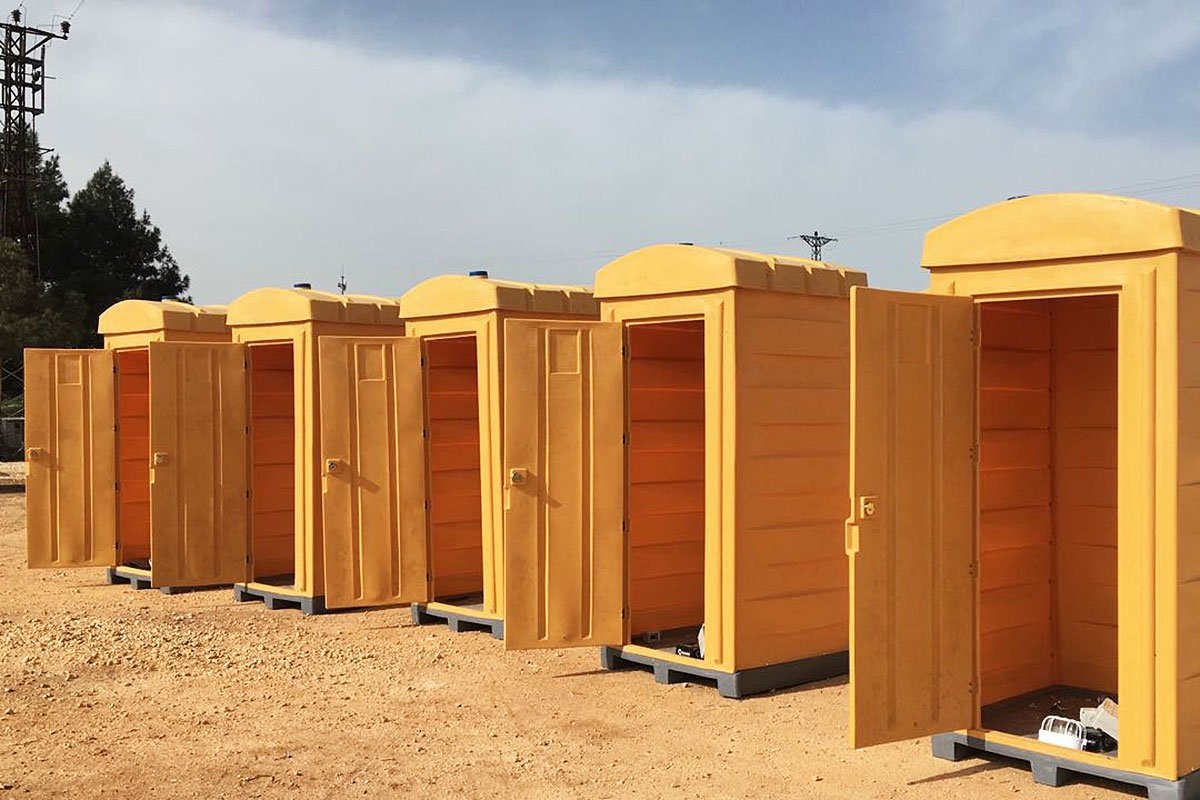 Plastic Mobile Toilets