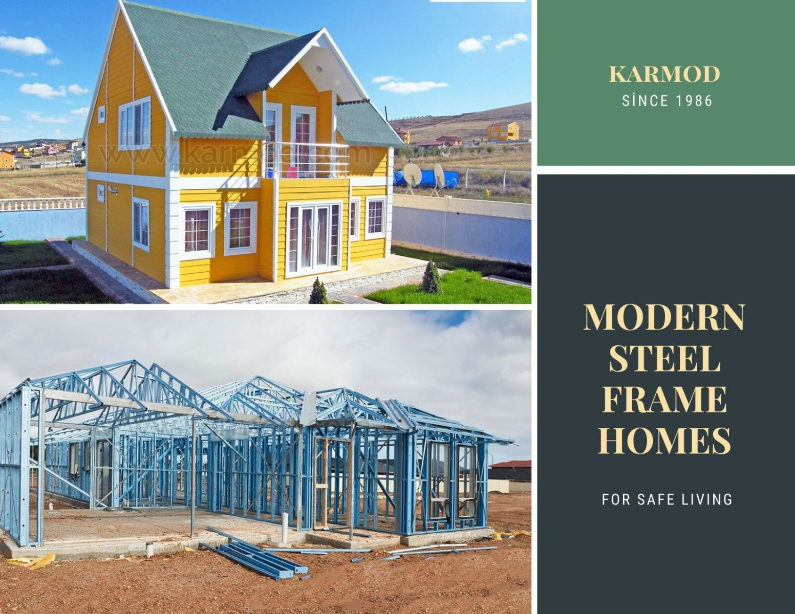 Modern Steel Frame Homes
