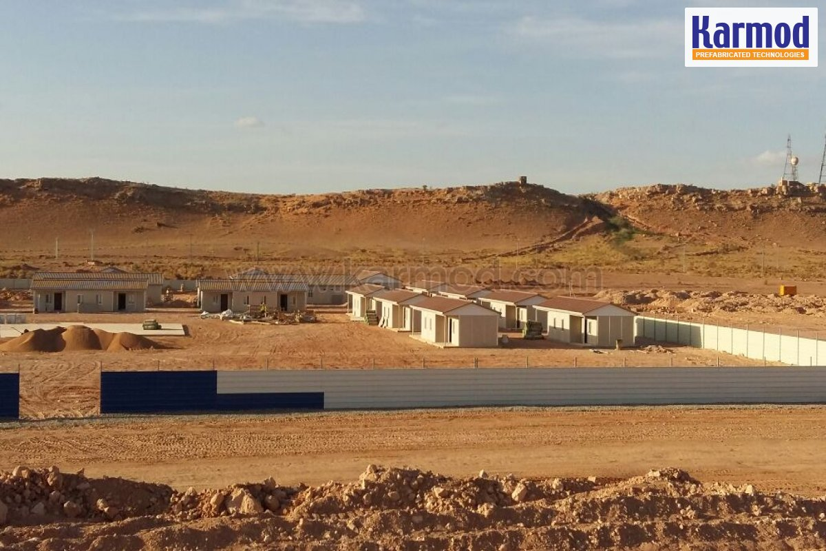 Algeria Prefabricated Construction Site Complex