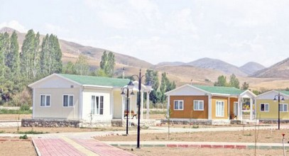 Bayburt modular holiday village buildings