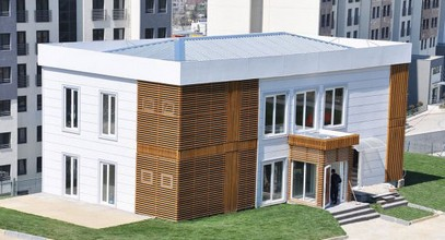 Luxurious Prefabricated Sales Office for Boshphorus City Project