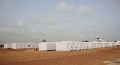 Karmod has completed a 250 people capacity worker camp in Somalia