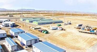 Prefabricated construction buildings for Shahdeniz-2 Project in Azerbaijan