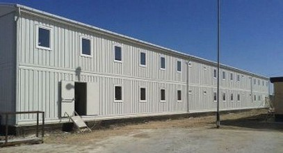 Worksite Prefabricated Buildings from Karmod for Caspian Oil Exploration Project