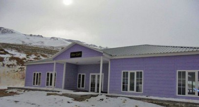 Karmod prefabricated buildings again at the top; New establishment for the skiing centre in Ergan mountain