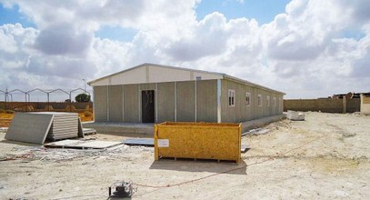 Production of Prefabricated Building for Oil Extraction site in Libya was completed