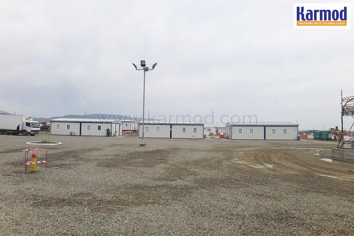 Prefab Work Site Buildings BP Azfen | Prefabricated