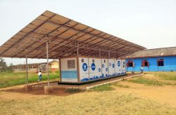 Karmods new generation container is used for solar energy storage in Nigeria