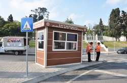 Karmod modern security cabins to be used in Istanbul Palace of Justic