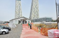 Monumento sales and information office building in Kartal is completed
