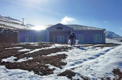 Karmod prefabricated buildings again on top; New establishment for the skiing centre in Ergan mountain