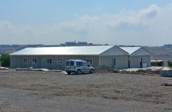 Istanbul - Prefabricated Buildings for the Natural Gas Pipeline in Canakkale were Completed