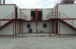 prefabricated project from