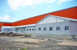 Prefabricated work site project for Ufuk Boru Company was completed