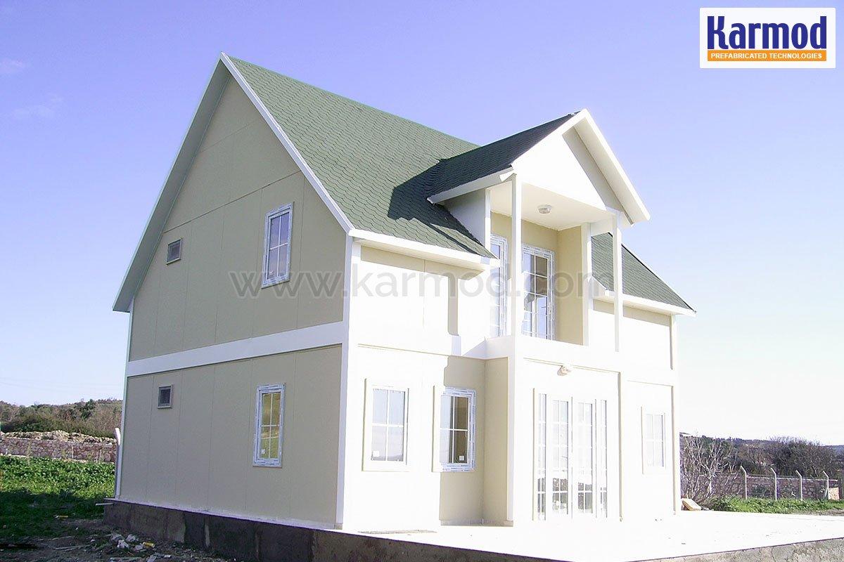 Steel House Designs, Villa Models   Karmod