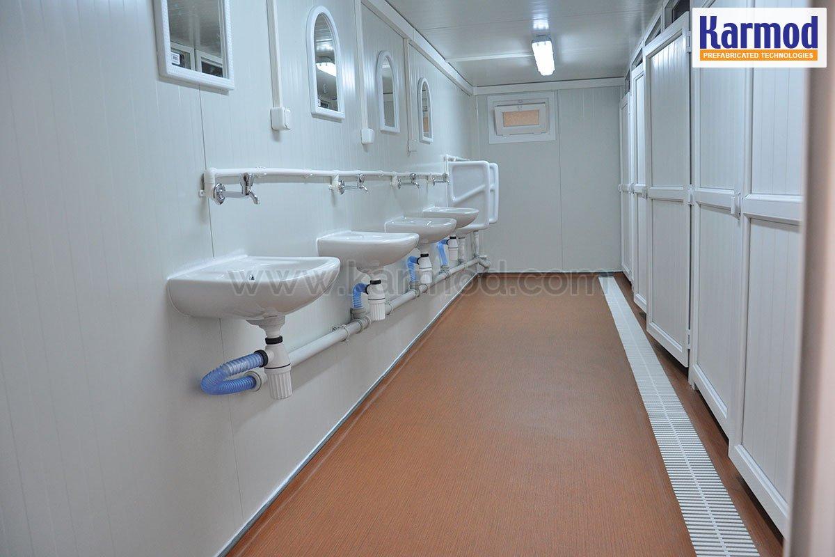 Portable Toilet Blocks Built | Temporary Site Mobile WC Shower