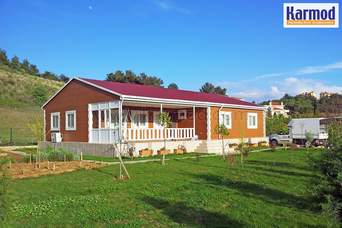 Prefabricated model houses photos   Modular Homes