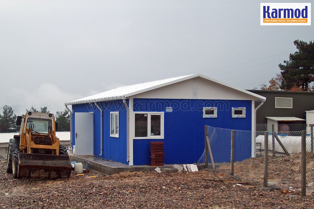 Prefabricated Toilet and Shower Blocks   Campsite Sanitaires