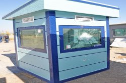 Bullet Proof Guard Booth