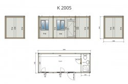 Demountable Container (Flatpack) Plans