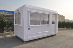 fiberglass hut