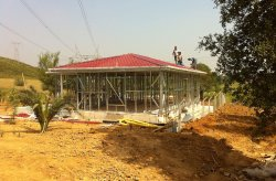 Lightning Steel Frame House