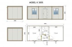 Sandwich Panel Container Plans