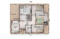 Single Storey Prefab Houses Plans